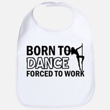 Born to pole-dance Bib