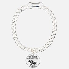 i love horse racing Bracelet