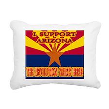 I SUPPORT ARIZONA t shir Rectangular Canvas Pillow