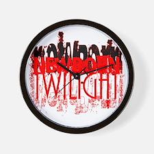 twilight newborn grunge by twibaby Wall Clock