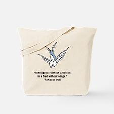 blue ambition Tote Bag