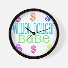milliondollar Wall Clock