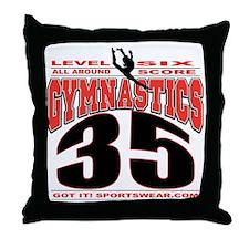 LEVEL6SCORE35 Throw Pillow