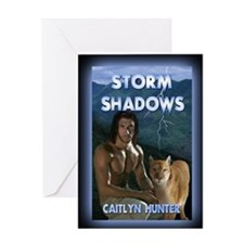 Storm Shadows mouse pad Greeting Card