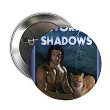 """Storm Shadows mouse pad 2.25"""" Button"""