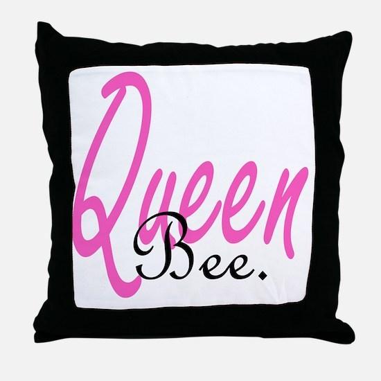 queenb Throw Pillow