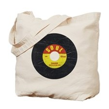 Soul Record - Scratch Texture - RGB Tote Bag