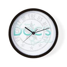 SueDocsGirl Wall Clock