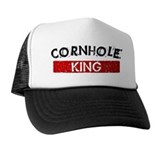 Cornhole king Trucker Hats