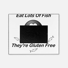 Eat Lots Of Fish Picture Frame