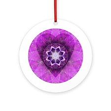 Centerheart Mandala Ornament (Round)