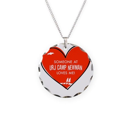 Someone-Love-Me Necklace Circle Charm