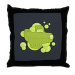 Submarine Throw Pillow
