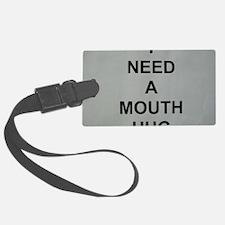 Mouth Hug 001 Luggage Tag