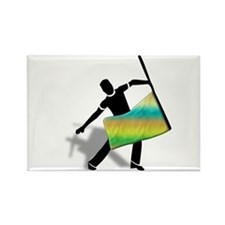 Cute Indoor Rectangle Magnet (10 pack)