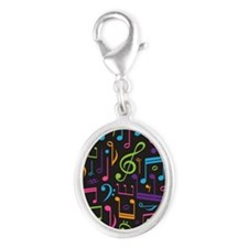 Colored Music Notes Choir Band Charms