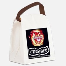 censored1024x1024 Canvas Lunch Bag
