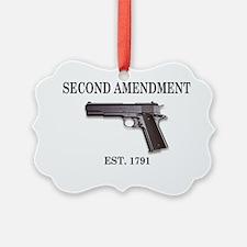 Second Amendment_shirt1A Ornament
