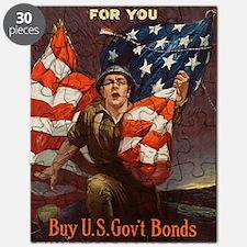 WW I Riesenberg, Sidney H. 1917 Puzzle