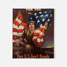 WW I Riesenberg, Sidney H. 1917 Throw Blanket