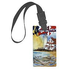 Maryland Lighthouse Luggage Tag
