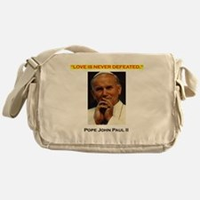 Commander Catholic Shirt copy Messenger Bag