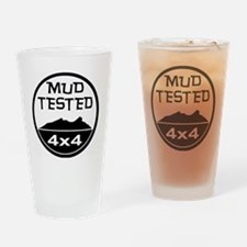 Mud Tested Drinking Glass