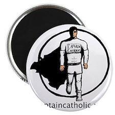2-Tyler Smarr - Captain Catholic Comic Book Magnet
