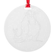 Walrus)B) Ornament