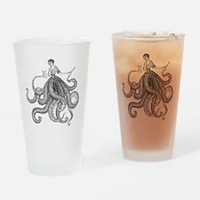 Octolady_2 Drinking Glass