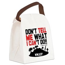 tellmeican Canvas Lunch Bag