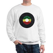 Reggae Record - Scratch Texture Sweatshirt
