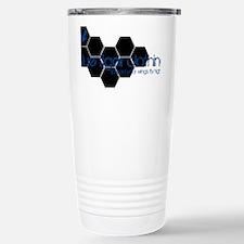 hex_black Stainless Steel Travel Mug