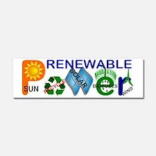 renewablepowerlg Car Magnet 10 x 3