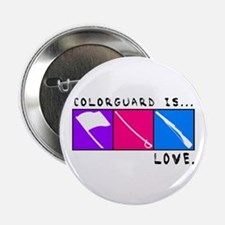 """Funny Winterguard 2.25"""" Button (10 pack)"""