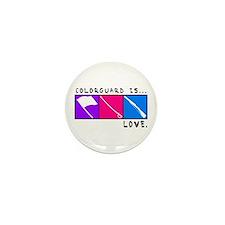 Cute Colorguard Mini Button (10 pack)