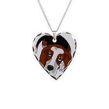 Cute Basset Hound Puppy Necklace