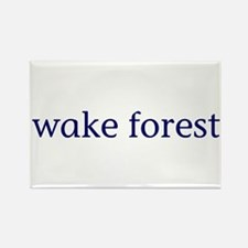 Wake Forest Rectangle Magnet