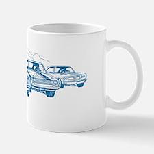 carsBlue Mug