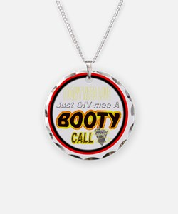 500BOO-T-CALL-TSHIRT-WT-LT Necklace