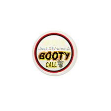 500BOO-T-CALL-TSHIRT-WT-LT Mini Button