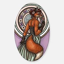 KatNouveauLarge Sticker (Oval)
