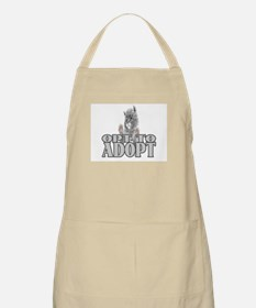 Opt To Adopt (cat) BBQ Apron
