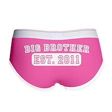BIG BROTHER EST 2011 3 white Women's Boy Brief