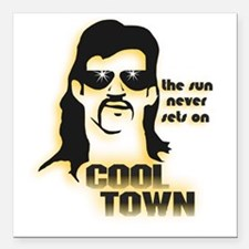 """CoolTown Square Car Magnet 3"""" x 3"""""""