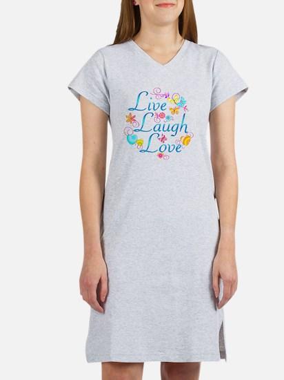 7-livelaugh Women's Nightshirt