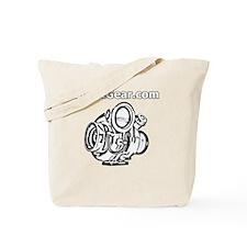 BoostGear - Cartoon Turbo - Black Shirt Tote Bag