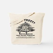BLACK-LOGO-got-trees-copy-2 Tote Bag