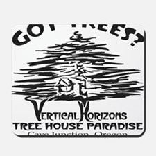 BLACK-LOGO-got-trees-copy-2 Mousepad