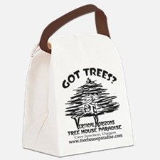 BLACK-LOGO-got-trees-copy-2 Canvas Lunch Bag